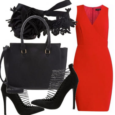Outfit Tutte pazze per il rosso