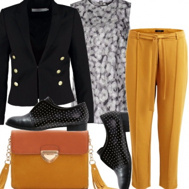 Outfit Mostarda femme