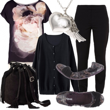 Outfit Comoda e alta