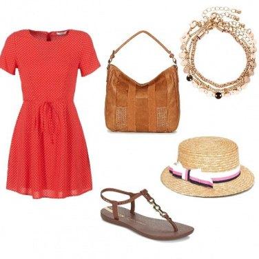 Outfit Pois romantici