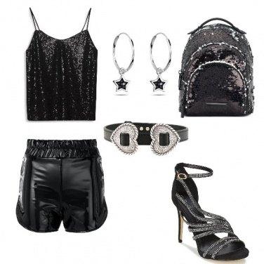 Outfit Serata in disco