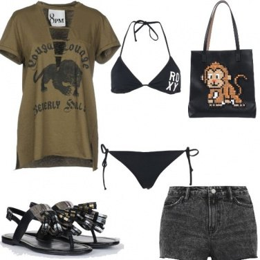 Outfit Scimmia rock