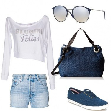 Outfit Deep blue