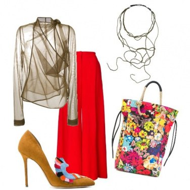 Outfit Scampagnata chic