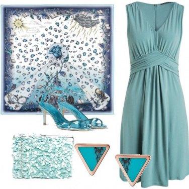 Outfit Serata turquoise