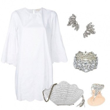 Outfit Cena chic in lungomare