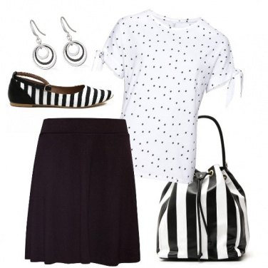 Outfit Righe o pois?!