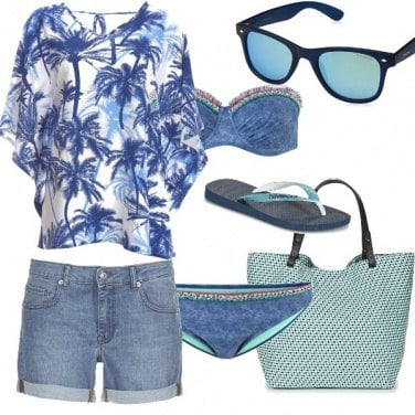 Outfit Let\'s go to beach!