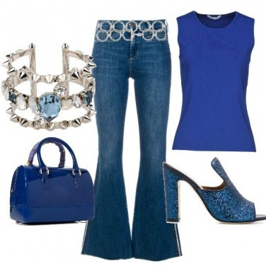 Outfit Jeans glam