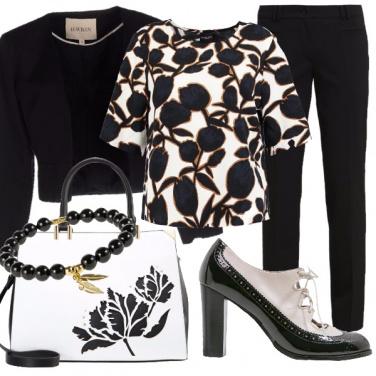 Outfit Raffinatezza floreale