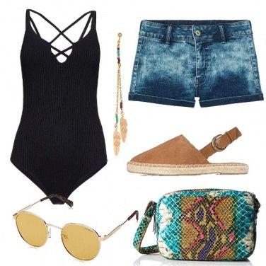Outfit Il body nero
