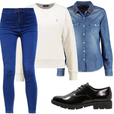 Outfit Dalla scuola ai giardini