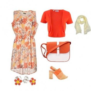 Outfit Arancio solare
