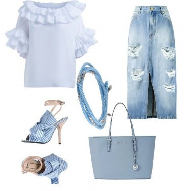 Outfit Vintage chic