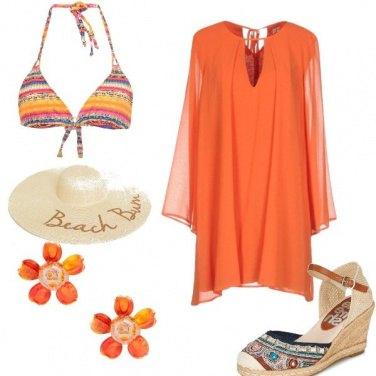 Outfit Arancio top