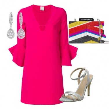Outfit Pink in glamour
