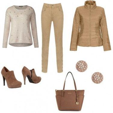 Outfit In ufficio d\'autunno