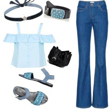 Outfit Celesti occasioni