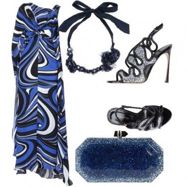 Outfit Sera blu