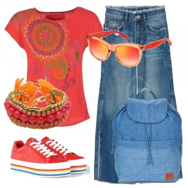 Outfit TSK Jeans con spacchi