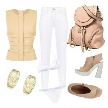 Outfit CMPS Strepitosa giacca see-through