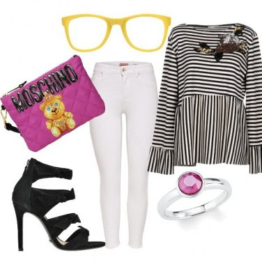 Outfit Yellow elements