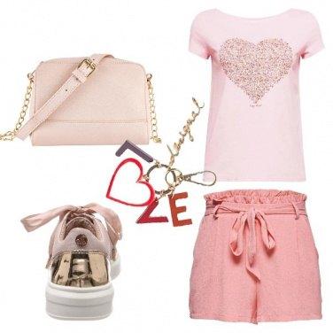 Outfit Deliziosa in rosa
