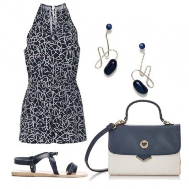 Outfit CMPS Intramontabile blu
