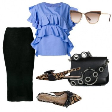 Outfit Onde azzurre