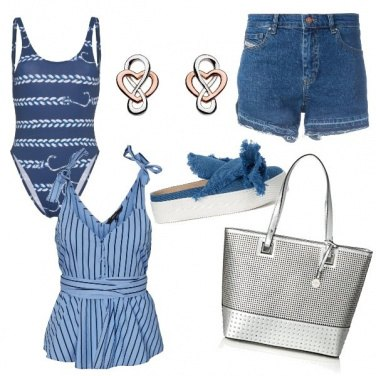 Outfit CMPS Si va in piscina!