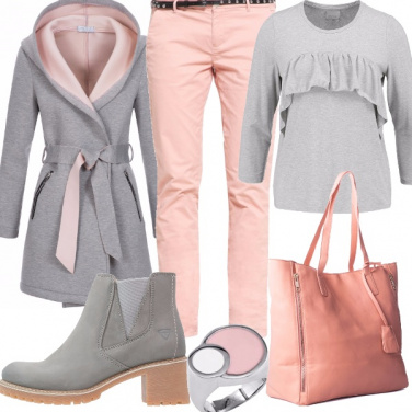 Outfit Rischio pioggia