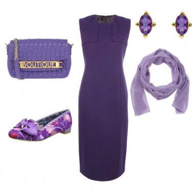 Outfit Violetta di Parma