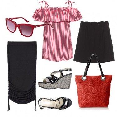 Outfit Lunga o corta con la zeppa
