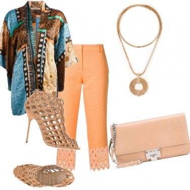 Outfit Camicia etnica