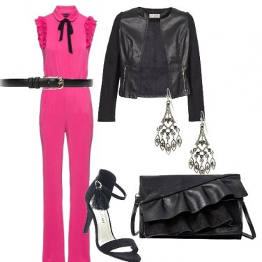 Outfit Pink Jumpsuit