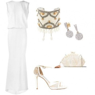 Outfit White wedding