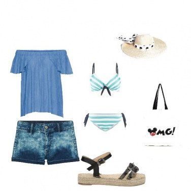Outfit Spiaggia&Shopping