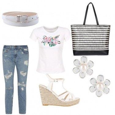 Outfit Una nota di bianco