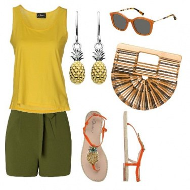Outfit Ananas mood collection