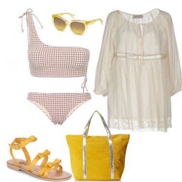 Outfit Cappuccino beach look