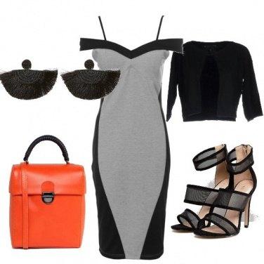 Outfit Un tocco d'arancio