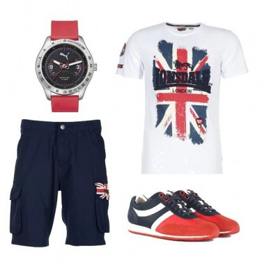 Outfit T-shirt Lonsdale