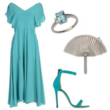 Outfit Il color Tiffany