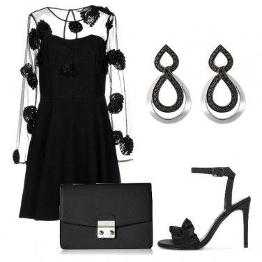 Outfit Uscita in total black