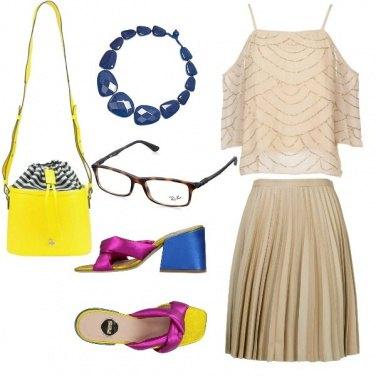 Outfit Chic, con stile e colori