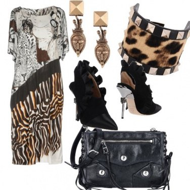 Outfit Rock animalier