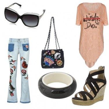 Outfit Rock con brio