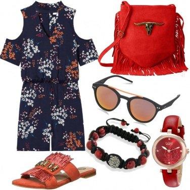 Outfit Aperitivo arancio