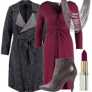 Outfit Caldo viola port royale