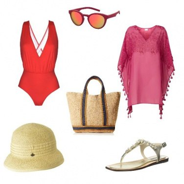 Outfit Costume rosso